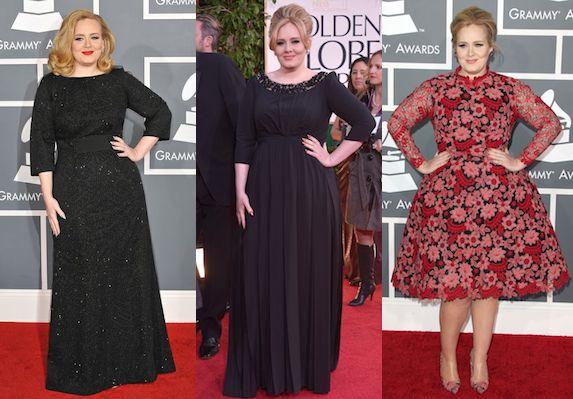 Adele Oscars Dress 2013