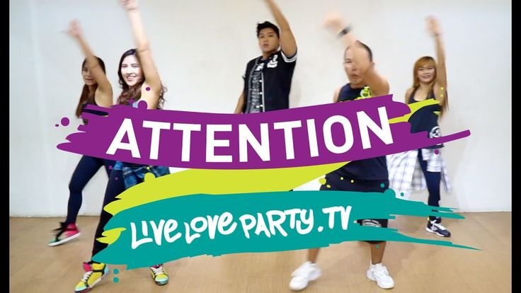 Attention by Charlie Puth | Dance Fitness | Live Love Party