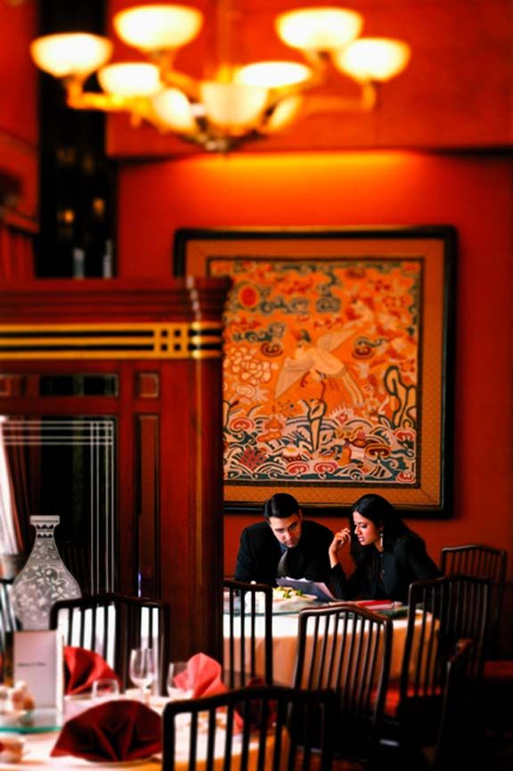 Empress of China- the authentic Chinese restaurant at the Eros Hotel New Delhi