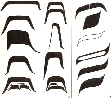 Northwest coast art shapes   18Like ovoids, U forms can vary greatly in shape