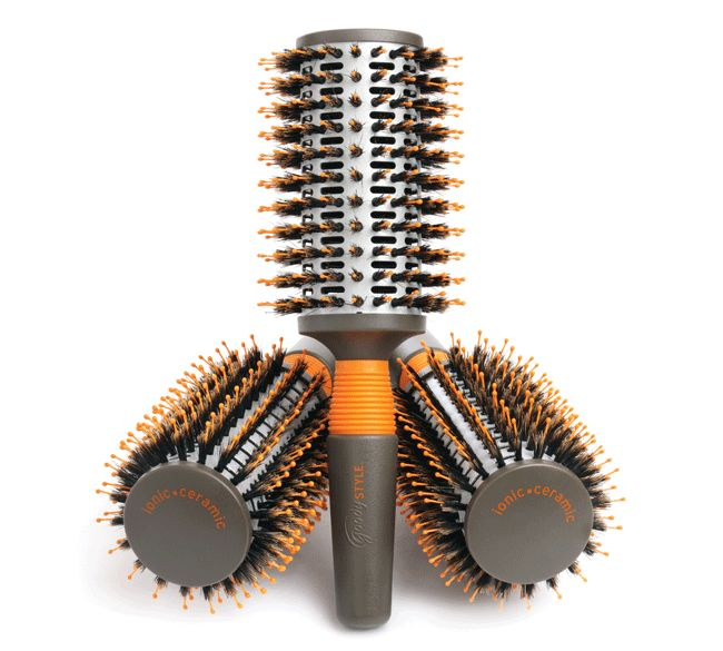 Goody Style Boar Nylon Hot Round Brush Thought It Was