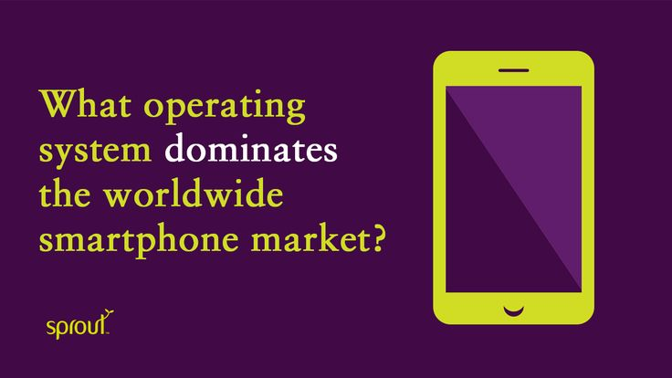 Android and iOS continue to dominate the worldwide smartphone market. #smartphone #android #iphone #windows #ios #operatingsystem #samsung #sprout #freedomtogrow #device #mobile
