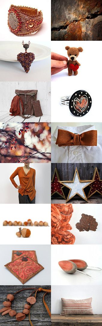 Rust by Bea on Etsy--Pinned with TreasuryPin.com