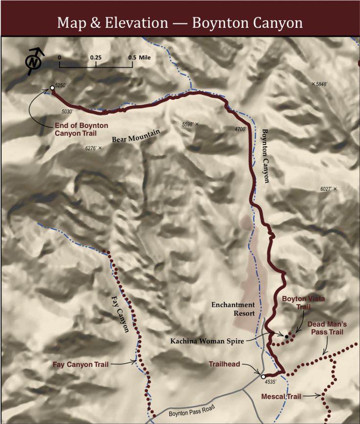 Boynton Canyon Sedona Trail Map