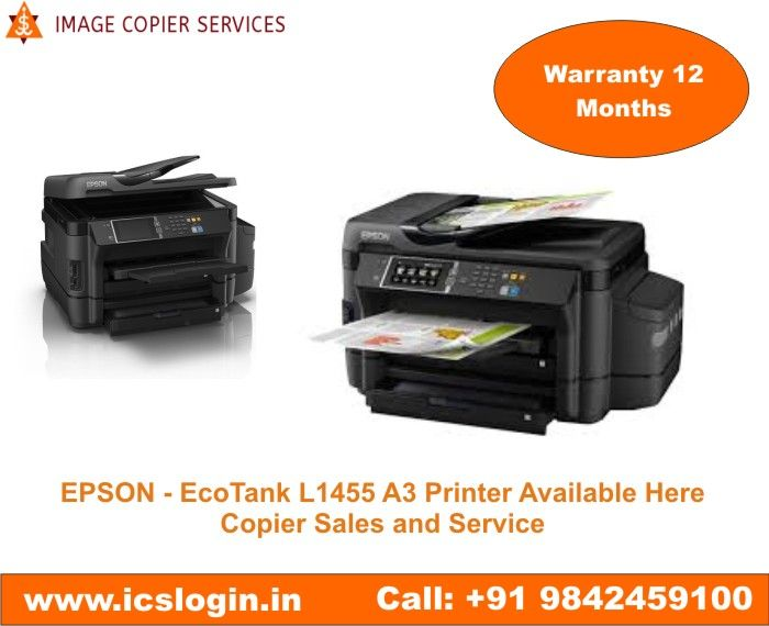 EPSON - EcoTank L1455 A3 Printer Available Here, Wi-Fi
