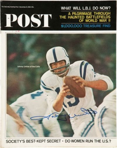 Johnny Unitas (Saturday Evening Post - 1964)