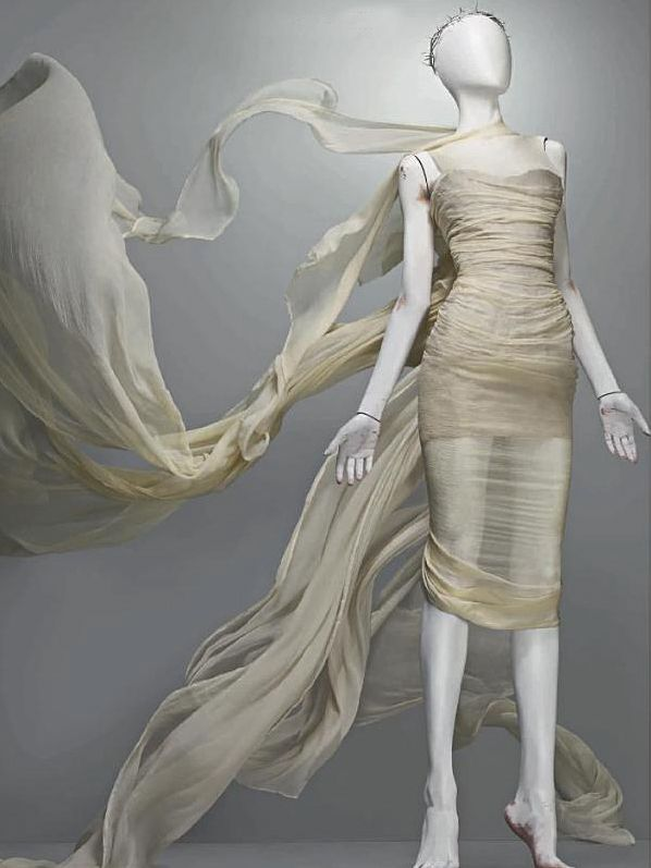 The Savage Beauty collection by Alexander McQueen. Incredible work.