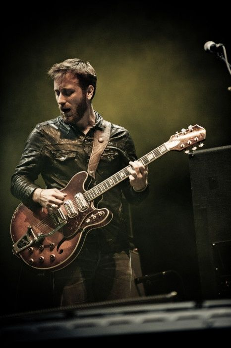 Dan Auerbach--The Black Keys leadman