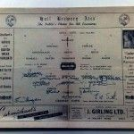 Signed by Grimsby Town FC - 26th May 1947