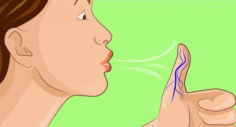 両手の親指に息を吹きかけてみて! ガチでトンデモナイことになります・・・
