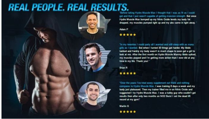 There are hundreds and thousands of people who rely on Hydro Muscle Max for their goals and a great sex life without worrying about any side effects. >> http://pro-testosteronereview.com/hydro-muscle-max/