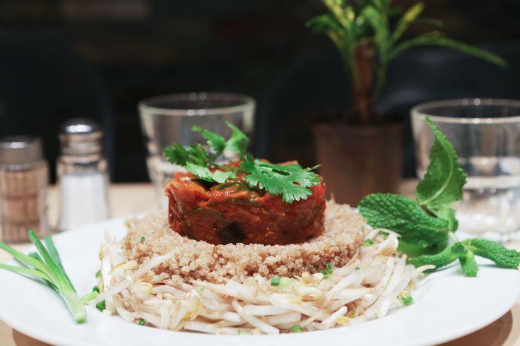"""Ratatouille de salade au Quinoa """"chaud et froid"""""""