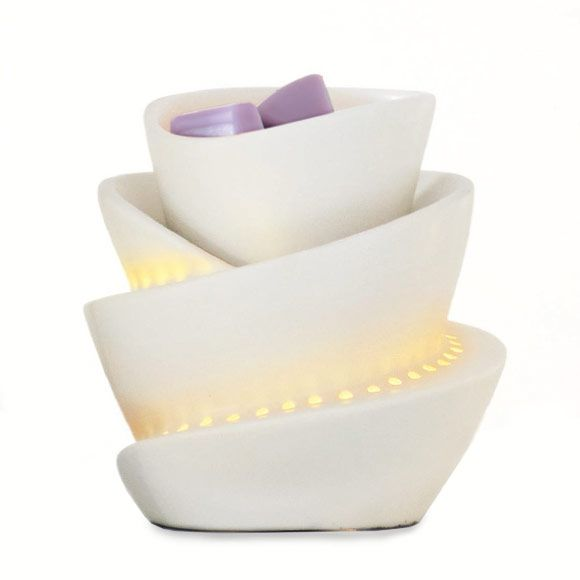 Spiral scentglow warmer $30 on any show order. Contact me today for this great deal Www.partylite. biz/Ambernoneal