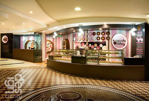The amazing Cupcake Bakery in The Queen Victoria Building. If you aren't the Christmas Tree type, or you just like things that give...This store is for you. You can order a tree of cupcakes!!! Get your favourite cupcakes and have an amazing tree!