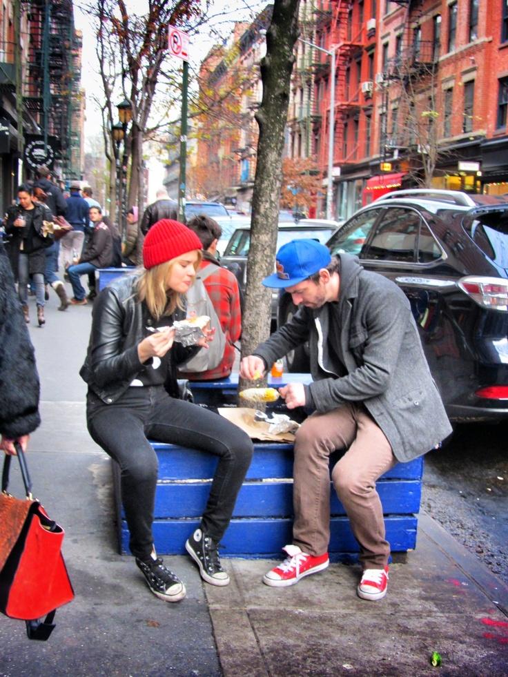 sidewalk dining - havana cafe