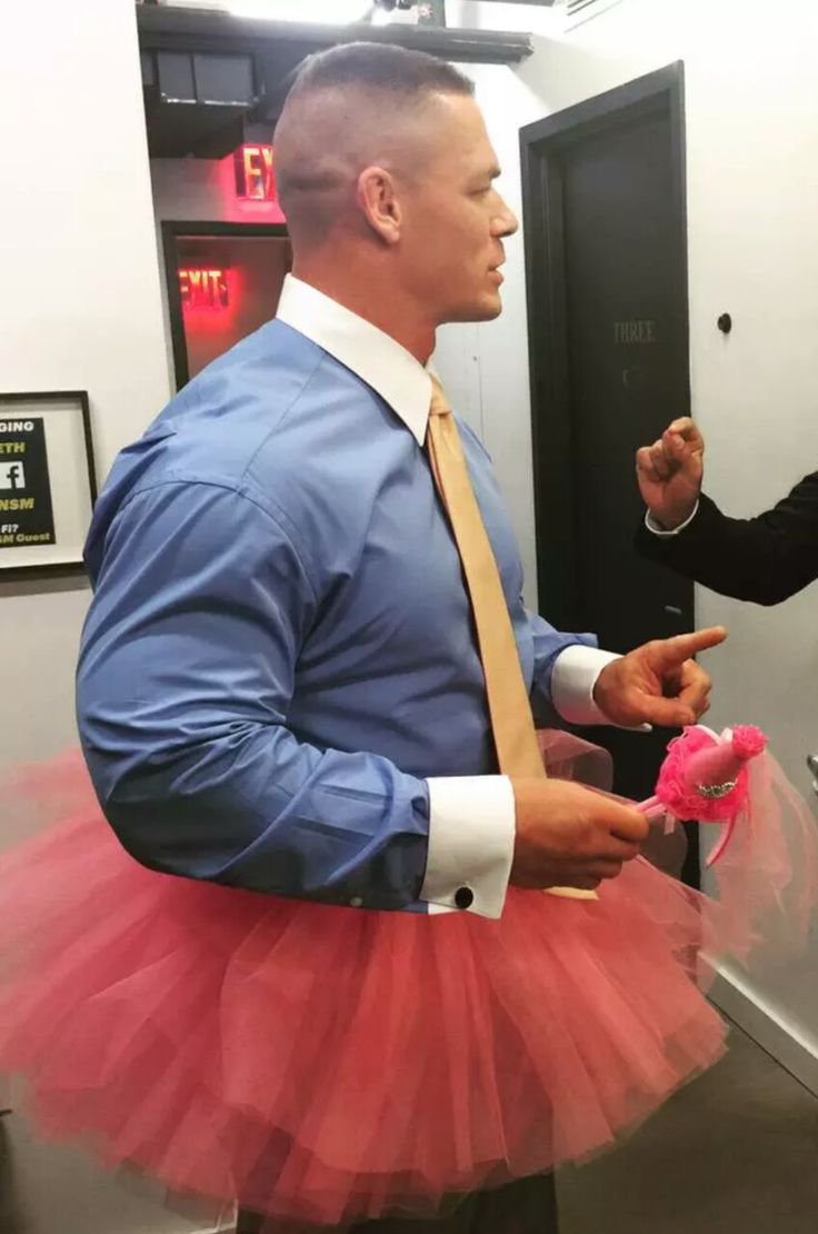 "mannixxbella: "" Everyone needs John Cena in a tutu on their blog. """