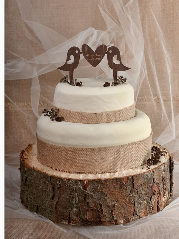 Wedding Cake Topper Wooden Rustic Wedding Cake Toppers Wood Cake Topper Rustic Cake Toppers