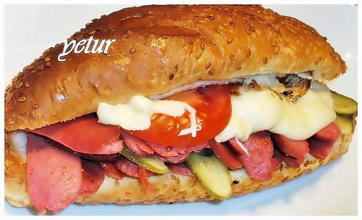 Yetur'la lezzet kareleri.com: ekmek-tost-sandviç-kahvaltılık çeşitler