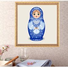 DIY painting Embroidery with crystals pattern 5D diamond Embroidery Russia vase girl mosaic full square drill Home Decor D1 (China)