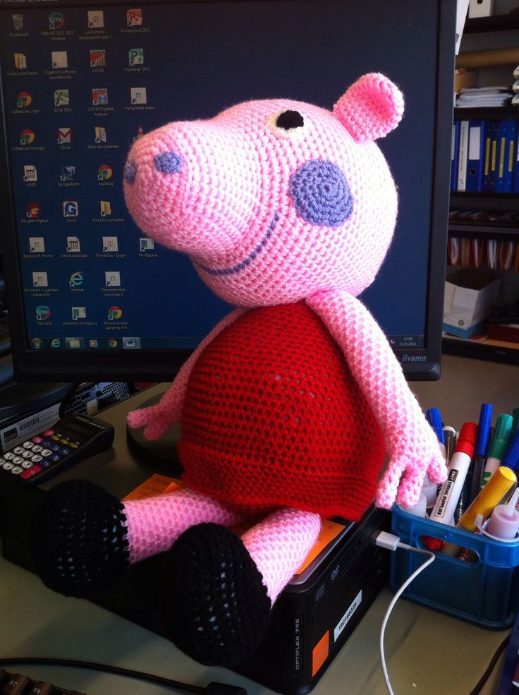 Peppa Pig - www.emmeline-haakt.simpsite.nl