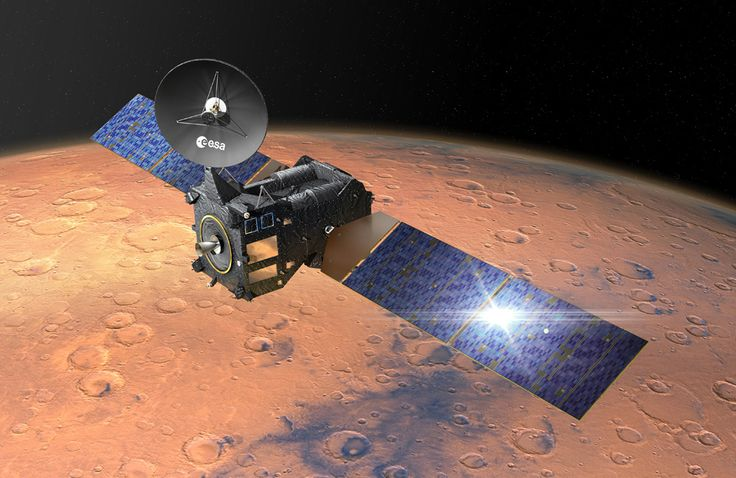 There were fears for Mars lander Schiaparelli tonight after communication was lost a minute before it was due to touch down.