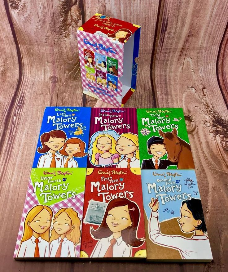 Malory Towers by Enid Blyton Paperback 2006 6 Book Box Set Collection Gift