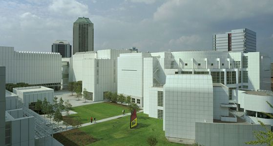 High Museum of Art in Atlanta.  Normally I don't get into art museums all that much but this one is pretty impressive.