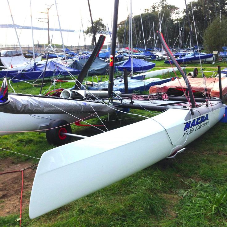 "Grants New Toy ""Foiling Nacra F20"""