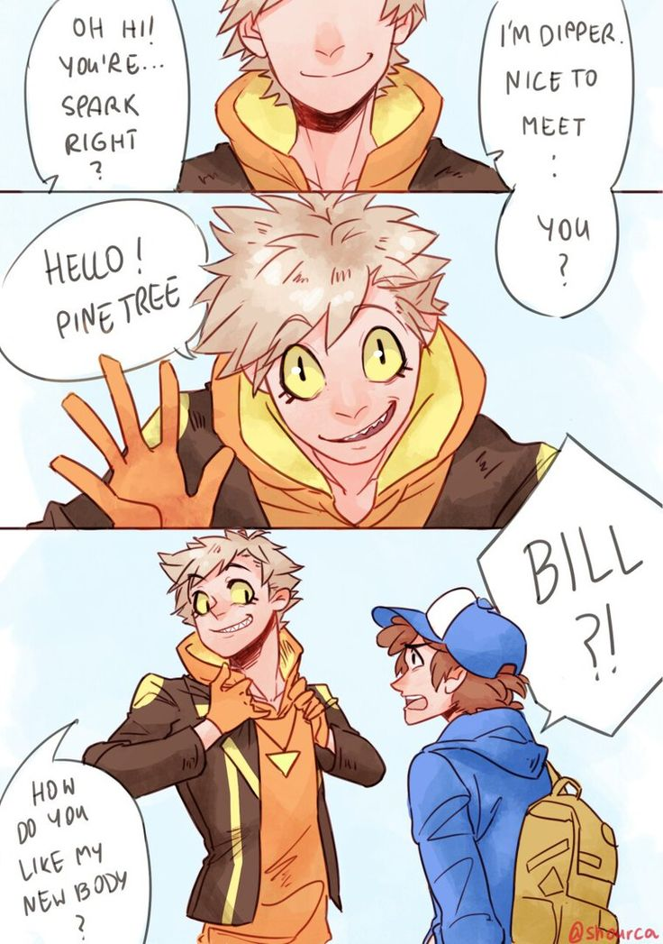 Pokemon GO||Dipper Pines / Bill Cipher (2/5)