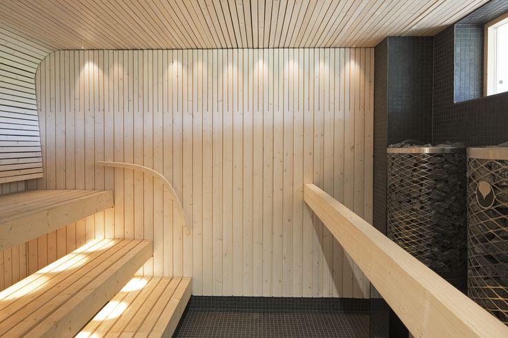 Haltia's sauna in Saivo meeting room. Photo: Voitto Niemelä