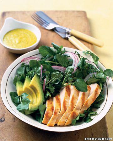 Ensalada de pollo-y-Mango