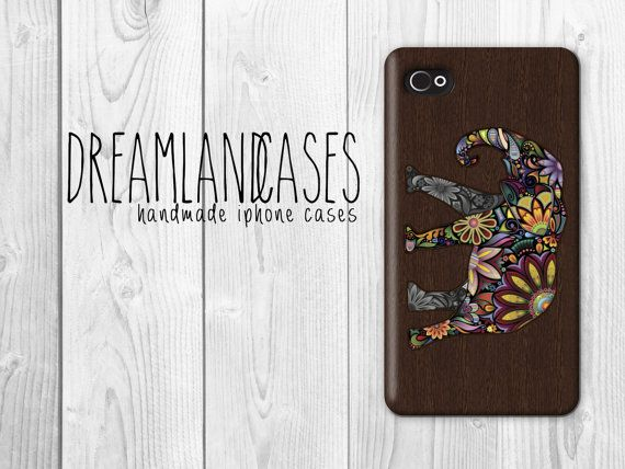 Wood elephant iphone case, wood iphone case, iphone 4, iphone 4s, iphone 5, iphone 5s, iphone 4 case, iphone 4s case, iphone 5 case, iphone 5s case, case, phone case, iphone case, #elephant, #iphone, #aztec, #tribal, aztec print, tribal print, triangles, triangle  by DreamlandCases, $13.00