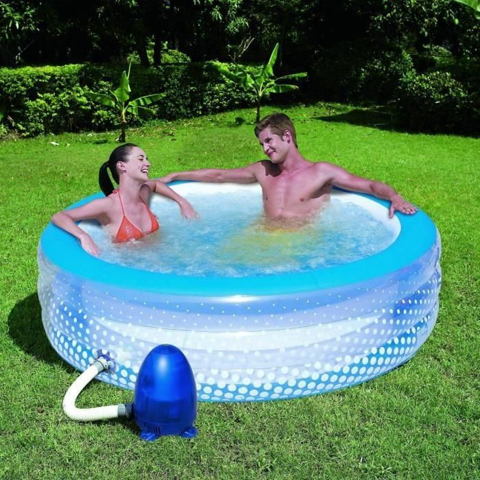 21 best hot tub inflatable images on pinterest whirlpool for Spa gonflable intex gifi