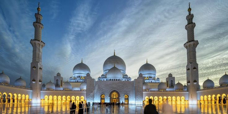 Sheikh Zayed Mosque is the key place of worship for Friday gathering and Eid prayers.