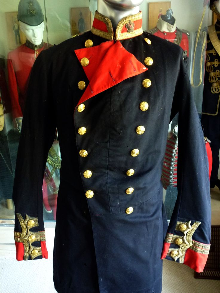 1855-56 Army rare d/b tunic. Never seen one in blue