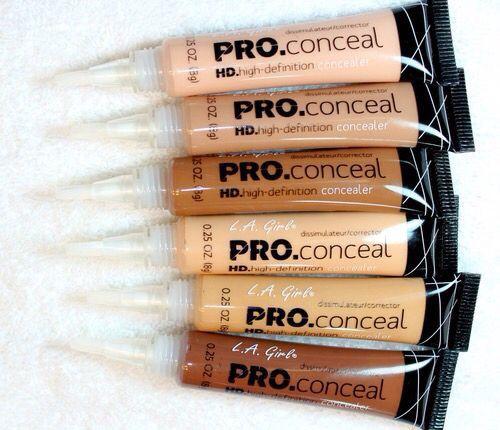 L.A Girl Pro concealers for dark skin women @Mishamodern