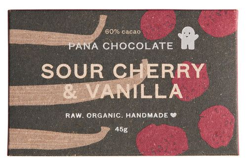 Pana Chocolate is a raw, organic chocolate that is handmade in Melbourne, Australia. It contains only natural ingredients such as raw organic nuts, organic goji berries, organic coconut flakes and pure 100% essential oils.