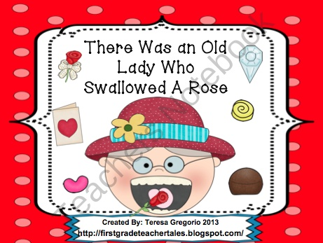 there was an old lady who swallowed a rose pdf