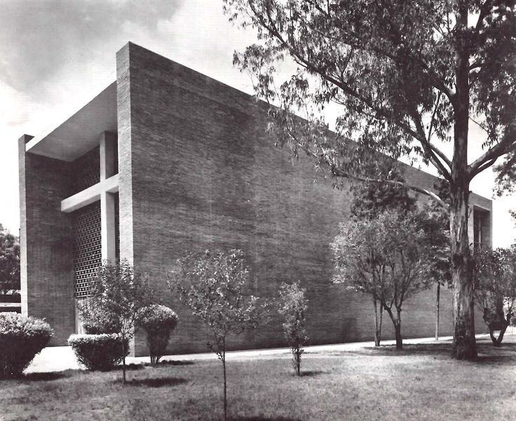 Capilla del sanatorio espa ol av ej rcito nacional 613 for Bauhaus oficinas centrales