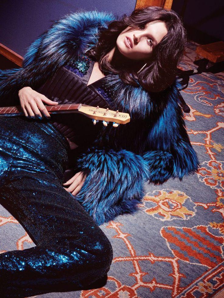 Glam Rock | Vogue Mexico October 2015 Model: Katlin Aas Photographer: Dusan Reljin