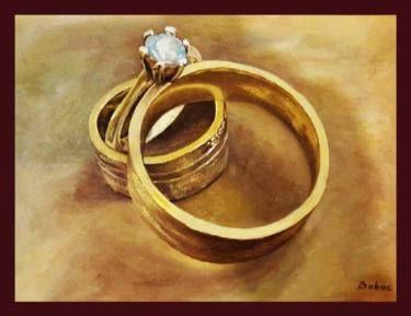 "Saatchi Art Artist Boboc Mihai; Painting, ""Wedding"" #art"