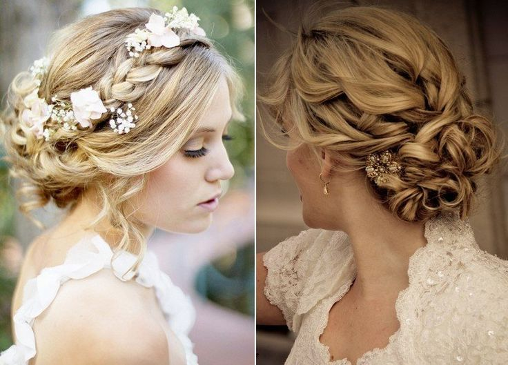 55 Id Es Romantiques De Coiffure Mariage Cheveux Longs Coiffures Chignons And Mariage