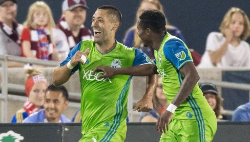 COMMERCE CITY, Colo. — Clint Dempsey scored twice including a highlight-reel golazo in the 85th minute, pacing the Seattle Sounders to a 3-1 road victory over the Colorado Rapids on Tuesday's Independence Day matchup at Dick's Sporting Goods Park. Will Bruin scored Seattle's other goal in