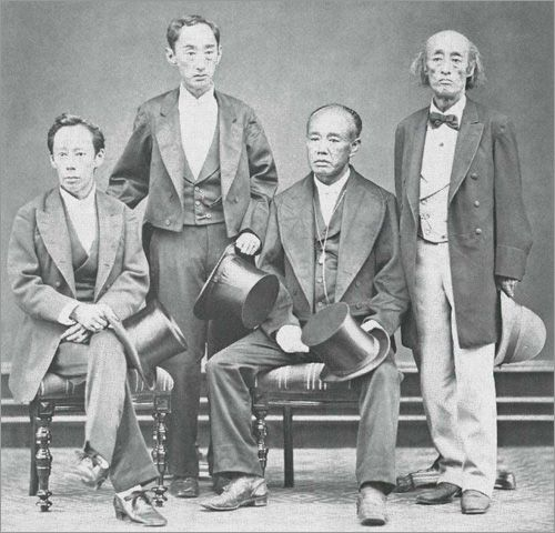 "The four ""Takasu"" brothers, Matsudaira,  Sadaaki, Yoshikatsu, and Mochiharu, they had highly influential roles during the Meiji Restoration."