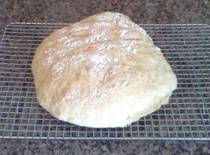 This is a wonderful version of a Portuguese homestyle bread given to me by Maria Dias of www.portuguesediner.com. I have had this bread many times while in The Algarve in Portugal.  It is easy and absolutely delicious!!