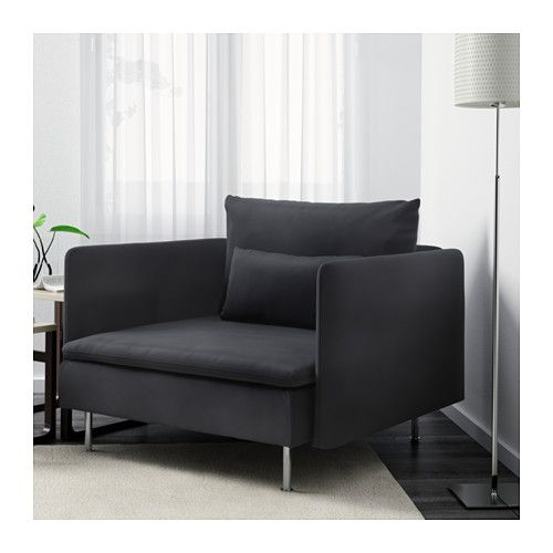 SÖDERHAMN Armchair IKEA The various sections of the seating series can be connected together in different combinations or used separately.