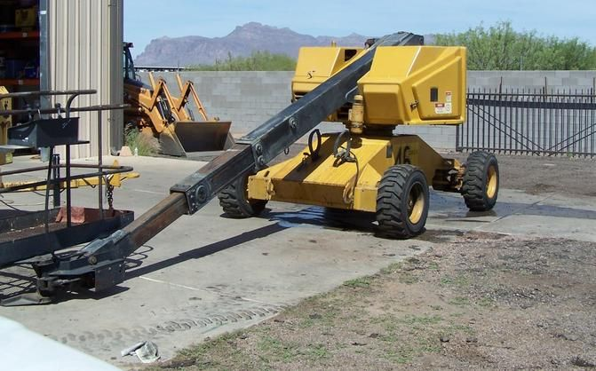 SELF PROPELLED CONDOR MAN BUCKET LIFT FOR SALE IN PHOENIX Condor Model 60N self propelled boom lift. Bi fuel including propane for indoor usage. ​Only 2600 hours, 100% operational. ​500lb basket capacity Condor 46Q-8 boom lift 40 Ft Lift, 500lb Basket Capacity Bi-fuel including propane for indoor usage ​100% Functional HD TRUCKS & EQUIP LLC Apache Junction, Az (602) 510-5444 see .... www.HDTrucksAndEquipmentSales.com .