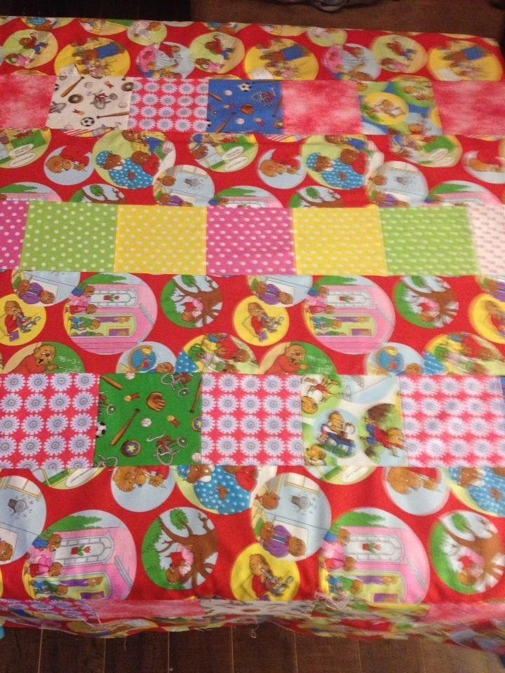 Fun quilt with Moda's Berenstain Bears fabrics