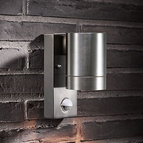 Buy Nordlux Maxi PIR Sensor Security LED Light, Aluminium Online at…