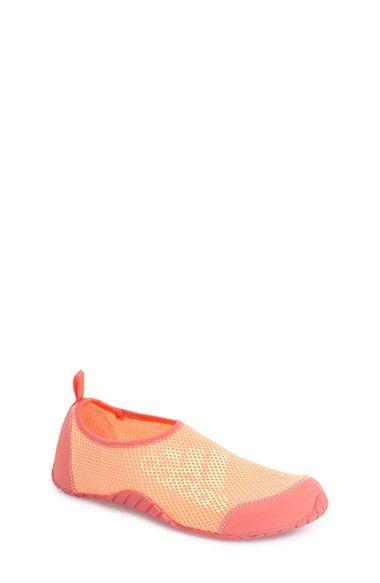 adidas 'Kurobe' Mesh Slip-On (Toddler, Little Kid & Big Kid)